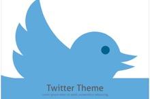 Twitter PowerPoint Template FF - Twitter