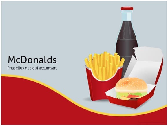 mcdonalds powerpoint template free