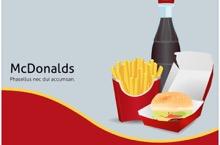 McDonalds PowerPoint Template FF - McDonalds