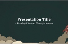 Start Up PowerPoint Template FF - Startup