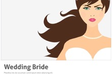 Wedding Bride PowerPoint Template - Wedding Bride