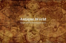 Antique World PowerPoint Template - Antique World