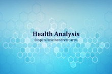 Health Analysis PowerPoint Template - Health Analysis