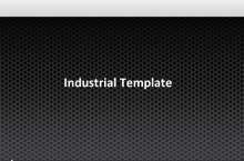 Industrial PowerPoint Template - Industrial