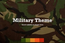 Military PowerPoint Template - Military v.2