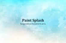 Paint Splash PowerPoint Template - Paint Splash