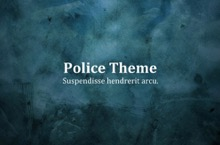 Police PowerPoint Template - Police
