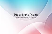 Super Light PowerPoint Template - Super Light