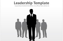 Leadership PowerPoint Template - Leadership