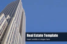 Real Estate PowerPoint Template 11 - Real Estate