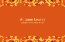 Autumn PowerPoint Template - FREE