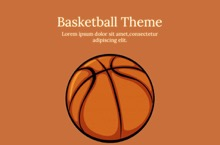 Free Basketball PowerPoint Template