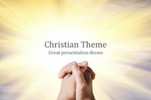 Christian Light PowerPoint Template - FREE