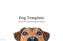 Dog PowerPoint Template - FREE