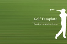 Golf PowerPoint Template - Golf