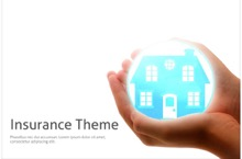 House Insurance PowerPoint Template