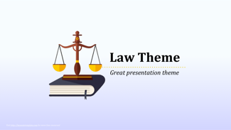 Law and Order Keynote Template - FREE