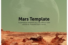 Mars PowerPoint Template