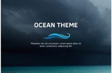 Ocean PowerPoint Template - Ocean