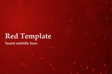 Red PowerPoint Template