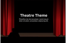 Theatre PowerPoint Template - Theatre